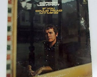 Gordon LIghtfoot If You Could Read My Mind Vinyl LP Record Album RS 6392