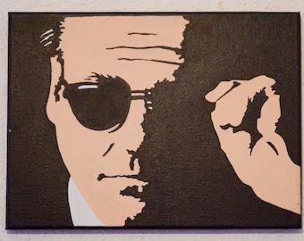 Portrait of Tony Soprano