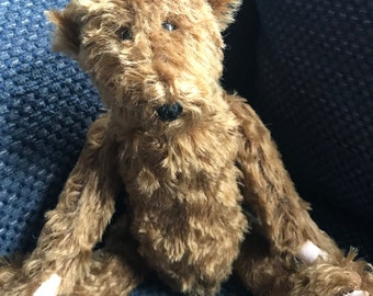 OOAK German mohair handmade teddy bear