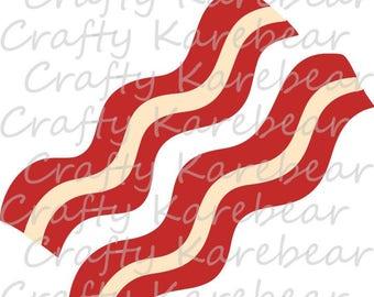 Bacon SVG Digital File Download