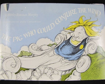 The Pig Who Could Conjure the Wind // 1978 Stated First Edition Hardback // Children's book