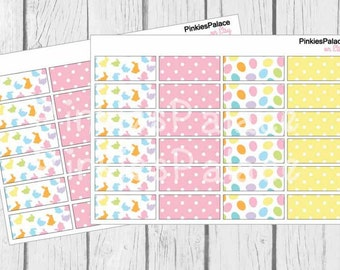 Easter Planner Stickers set of 24 Washi Easter Planner Stickers Spring Planner Stickers PS377g