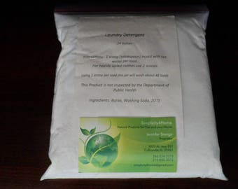 All Natural Homemade Laundry Detergent Refill