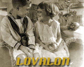 First Love... Deluxe Art Print... 1940's Vintage Snapshot Photo... Available In Various Sizes