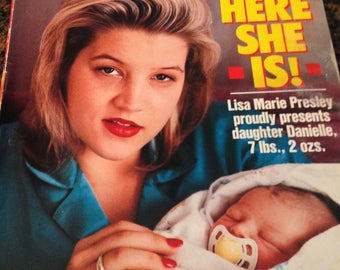 People magazine June 19, 1989 Riley Keough  Lisa Marie Presley cover