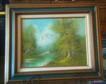 Vintage Signed, Original Oil Painting, Artist Hanrey, Paintings