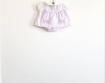 Vintage Light Purple Baby Dress