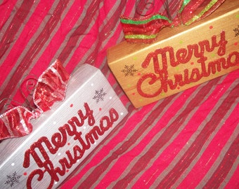 Merry Christmas Block