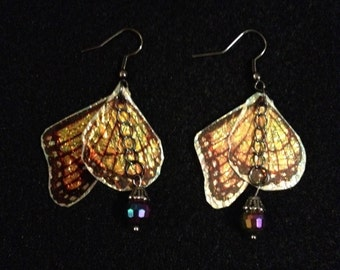 Butterfly fairy earrings handmade