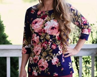 LillyAnnaLadies EVERLY Modest Shirt Tee
