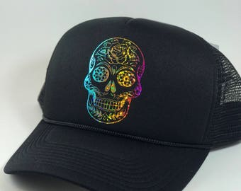 Sugar Skull / Day of the Dead Hat