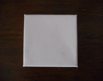 Canvas cotton 320 g/m frame - 10x10cm