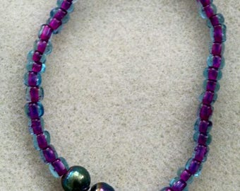 elastic beaded bracelet