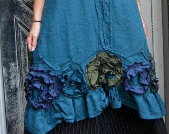 Flouncy Swirl Dress