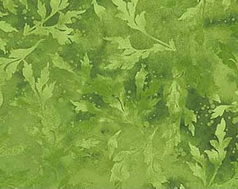 Half Yard PickleGreen Essence Fabric Quilting Cotton Northcott