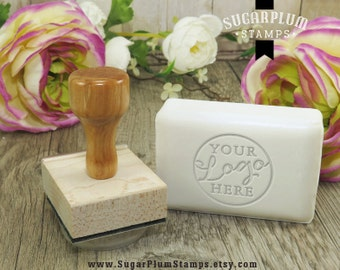 Custom soap stamp, custom fondant stamp, custom acrylic logo stamp, custom monogram fondant, handmade soap favors, monogram cookie stamp