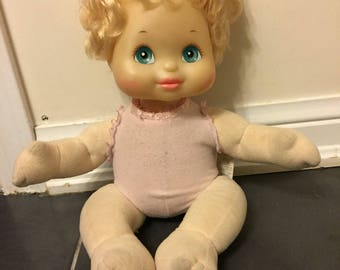 Vintage 1985 My Child Baby Girl doll