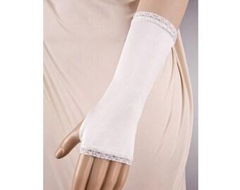 Wedding CHAMPAGNE Gloves,Satin Wedding Gloves,Lace Wedding Gloves,Short Wedding Gloves,Champagne Wedding Gloves,Fingerless Wedding Gloves