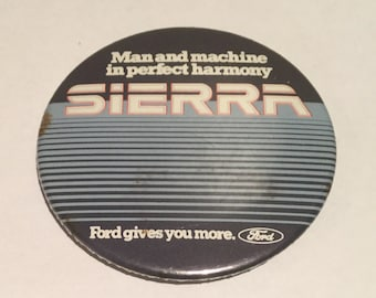 Vintage Ford Sierra Badge