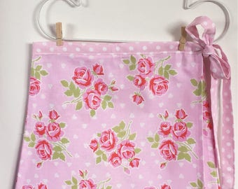 Girls wrap skirt | Size 6 | Tanya Whelan fabric | Pretty in Pink | Carson Collective
