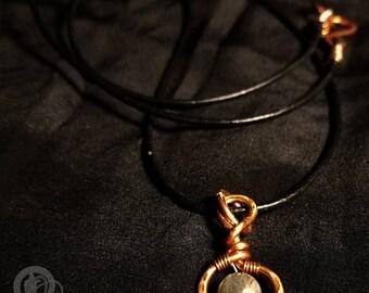 Thulsa - Copper & Labradorite Pendant