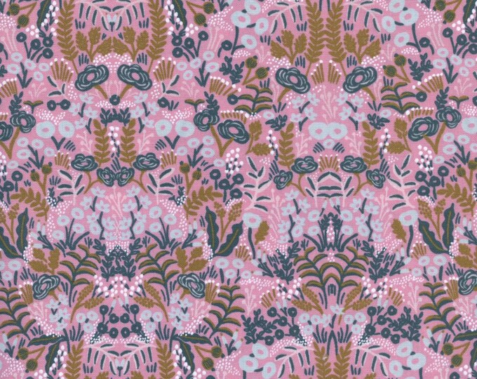 Menagerie by Rifle Paper Co for Cotton + Steel - Tapestry Violet - Cotton Woven Fabric