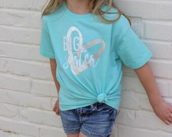 Big Sister Shirt / Pregnancy Announcement / Big Sister Gift / Kids Shirts / Pregnancy Announcement Shirt / Big Sister Announcement Shirt