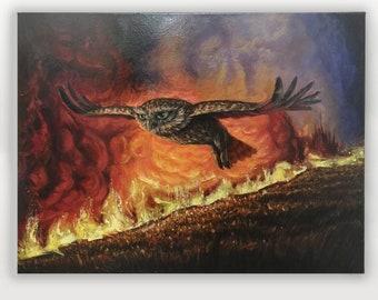 Little Owl, Big Fire
