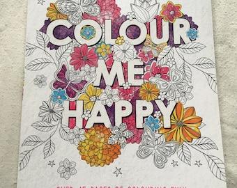 Scribblicious Colour Me Happy - Colouring Book