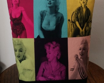 Marilyn Monroe Bag Zip Pouch, Great for Cosmetics, Makeup, Toiletries, Travel