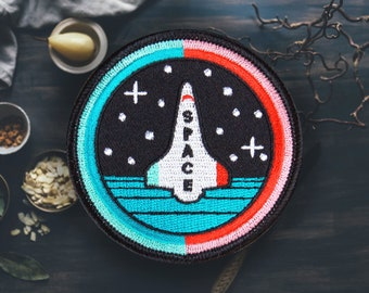"""Space Shuttle Patch 