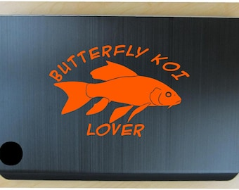 Butterfly koi decal