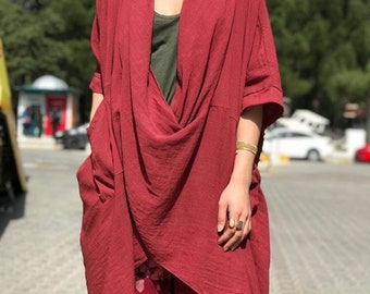 Linen Oversized Tunic