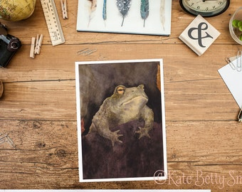 The Berkeley Toad Greeting Card