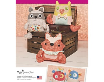 Simplicity Pattern 1182 Stuffed  Animals and Monsters