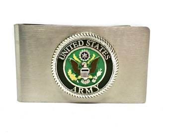 Army Money Clip – Color