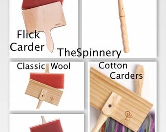 Ashford Newly Designed Hand Carders All Types/Sizes FREE Fiber & SUPER Fast Shipping!