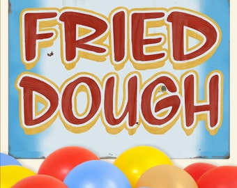 Fried Dough Carnival Food Wall Decal - #59419