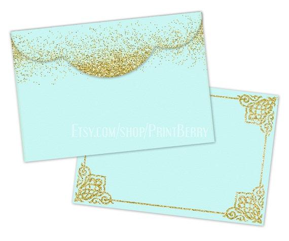 Gold Glitter Envelopes X Envelopes Printable Envelope Template