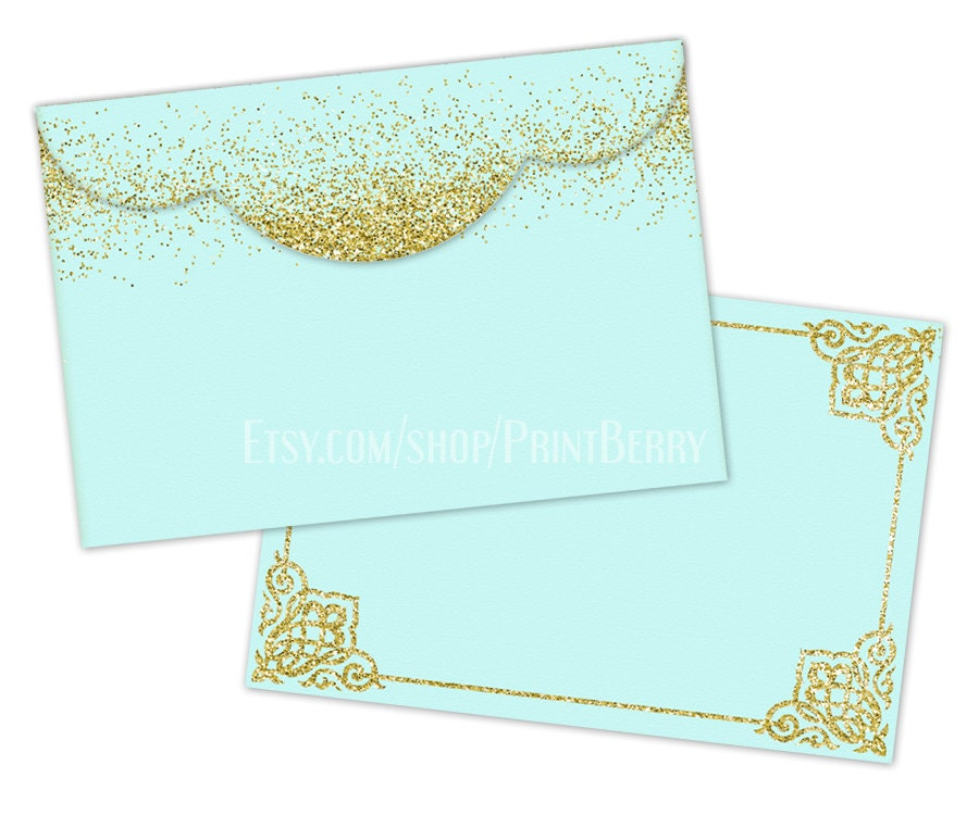Gold Glitter Envelopes X Envelopes Printable Envelope