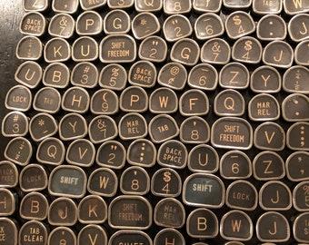 Royal Tombstone Vintage TYPEWRITER Keys Lot 100 Keys Lot 5