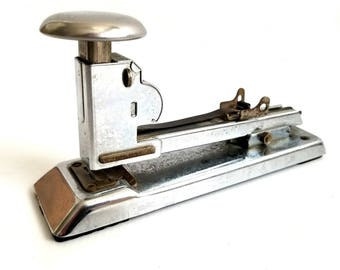 Vintage Pilot Stapler, Made by Ace Fastener Corp. in the USA, Chicago, Great Industrial Mad Men Office Look, Working Condition WITH Staples!