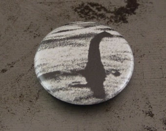 "Loch Ness Monster Button - Nessie - 1"" Button"