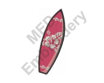 Surf Board - Machine Embroidery Design