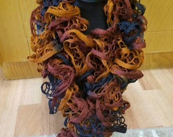 Bronze and Black Scarf