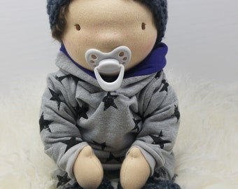 Baby, Joshua, Waldorf, Style, Doll, Newborn, Baby, Natural, Materials