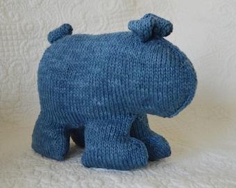 PDF Knitting Pattern unique BEAR - Stuffed Toy           kp2014
