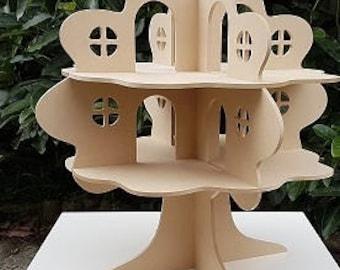 Treehouse Dollhouse DIY Wooden Toy