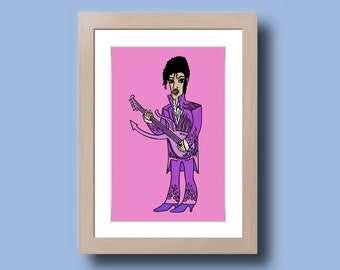 Prince - Illustration - print on photo paper - photographic print artwork
