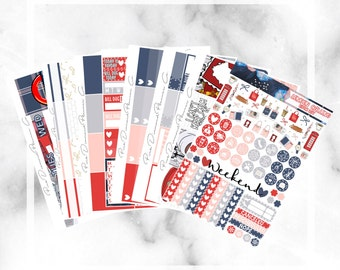 London Calling // Epic Weekly Planner Kit (250+ Planner Stickers)